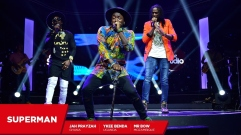superman song artist Best Jah Prayzah Mr Bow and Ykee Benda Superman Coke Studio Africa