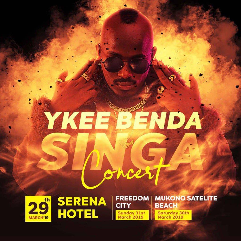 Ykee Benda Live in Concert
