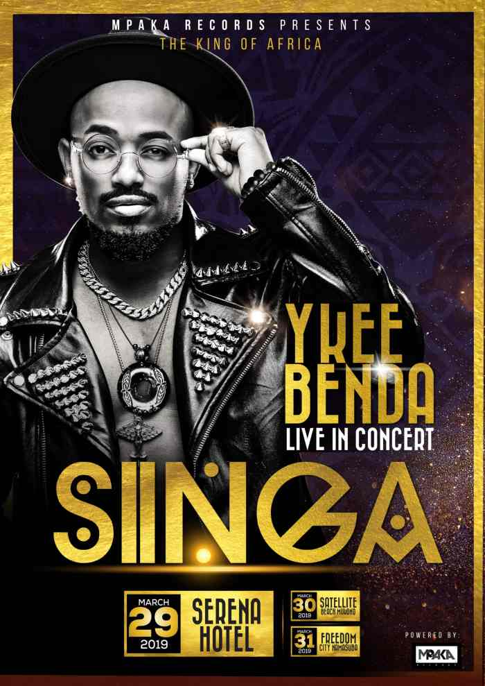 Official Singa Concert Ykee Benda