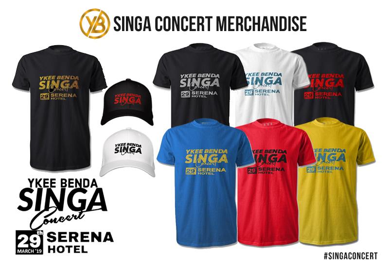 Singa Concert Merchandise
