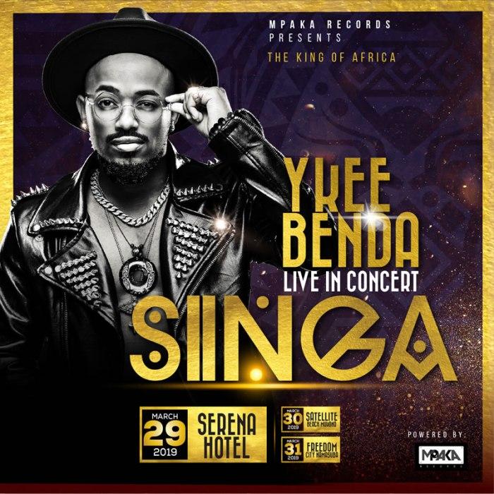 Ykee Benda Singa Concert Serena